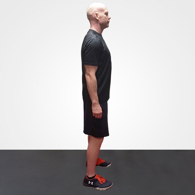 KETTLEBELL BENT OVER ROW POSITION 1