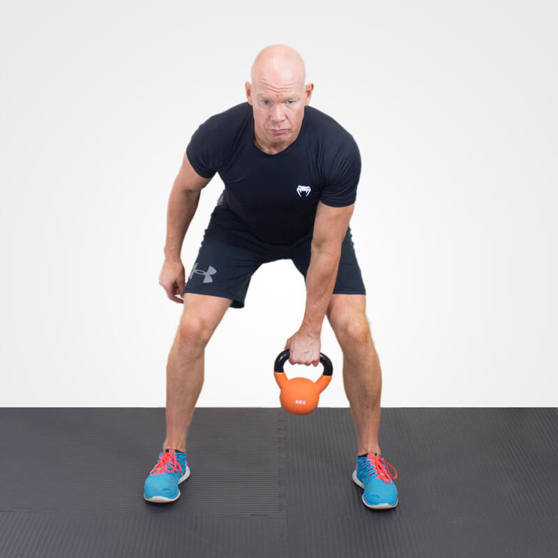 KETTLEBELL CLEAN POSITION 1