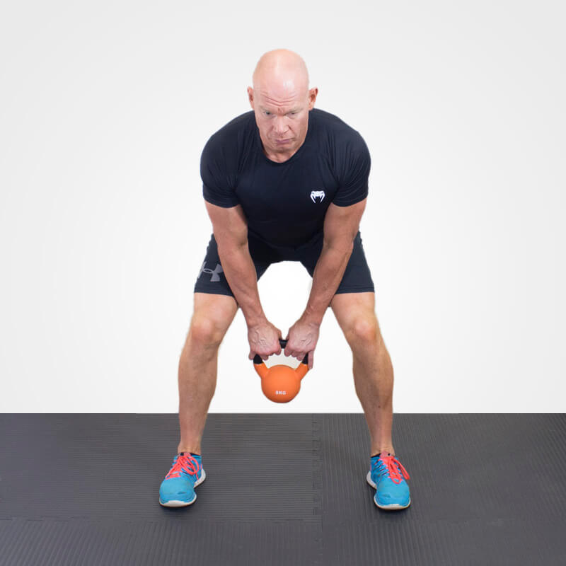 KETTLEBELL SWING position 1