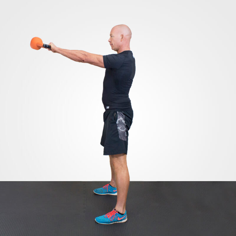 KETTLEBELL SWING  position 4