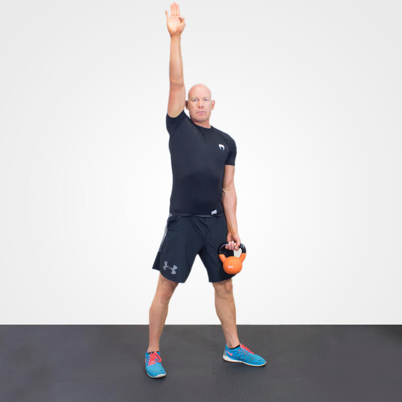 KETTLEBELL WINDMILL POSITION 1