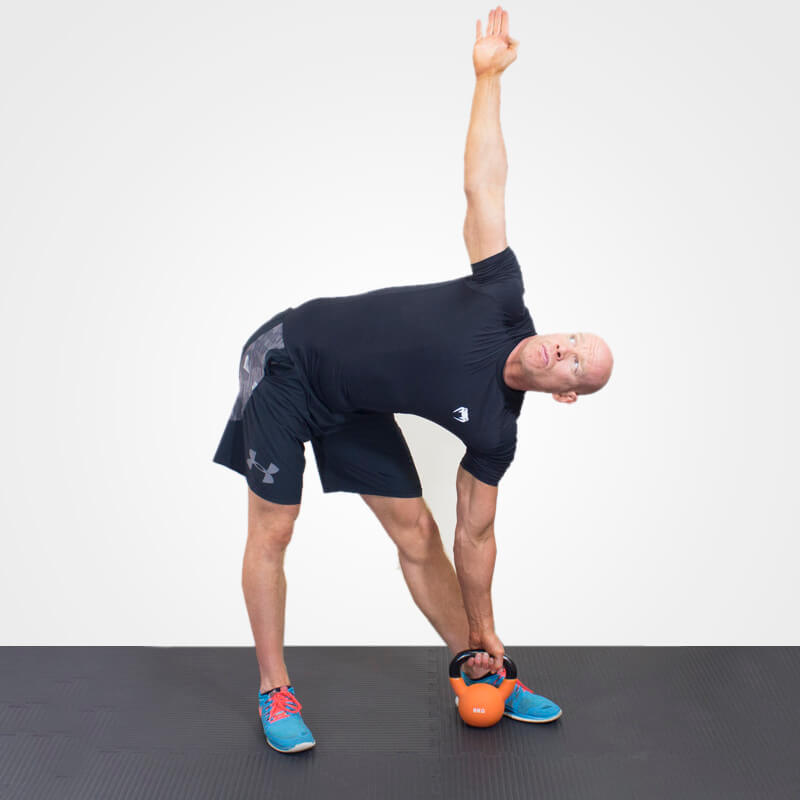 KETTLEBELL WINDMILL POSITION 2