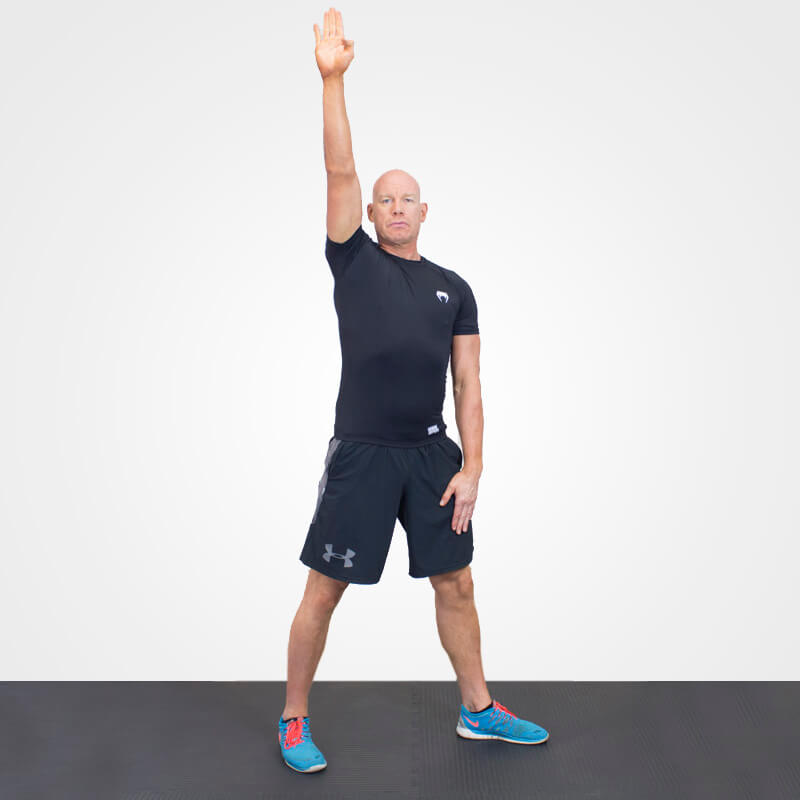 KETTLEBELL WINDMILL NO BELL POSITION 1