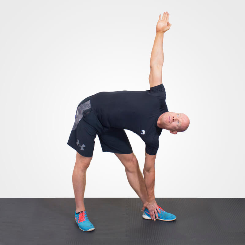 KETTLEBELL WINDMILL NO BELL POSITION 2
